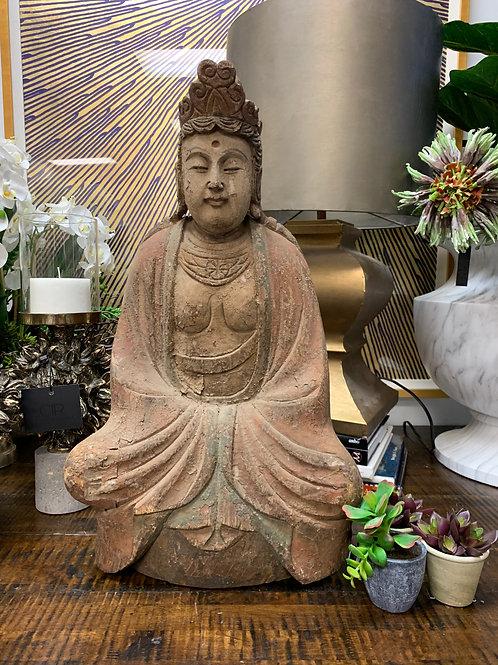 Serene Meditating Buddha