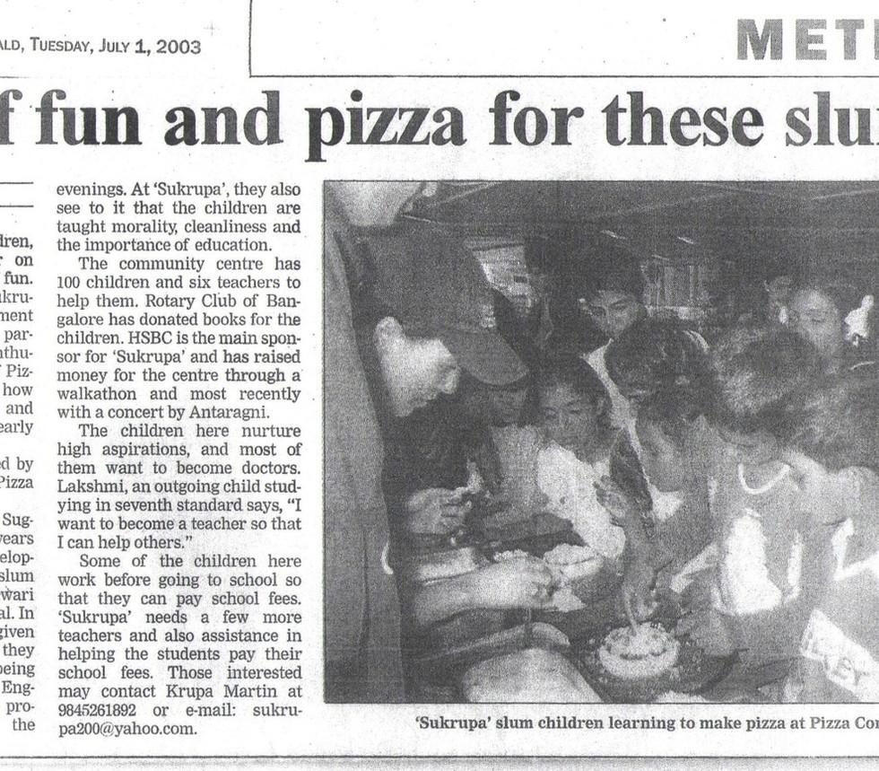 Deccan Herald, 1st July 2003