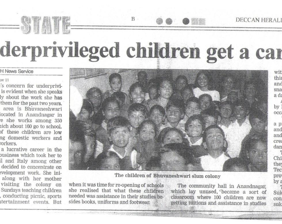 Deccan Herald, 12th November, 2002
