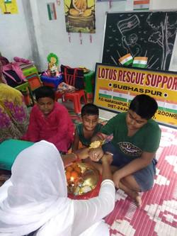 Celebrations at Lotus Rescue