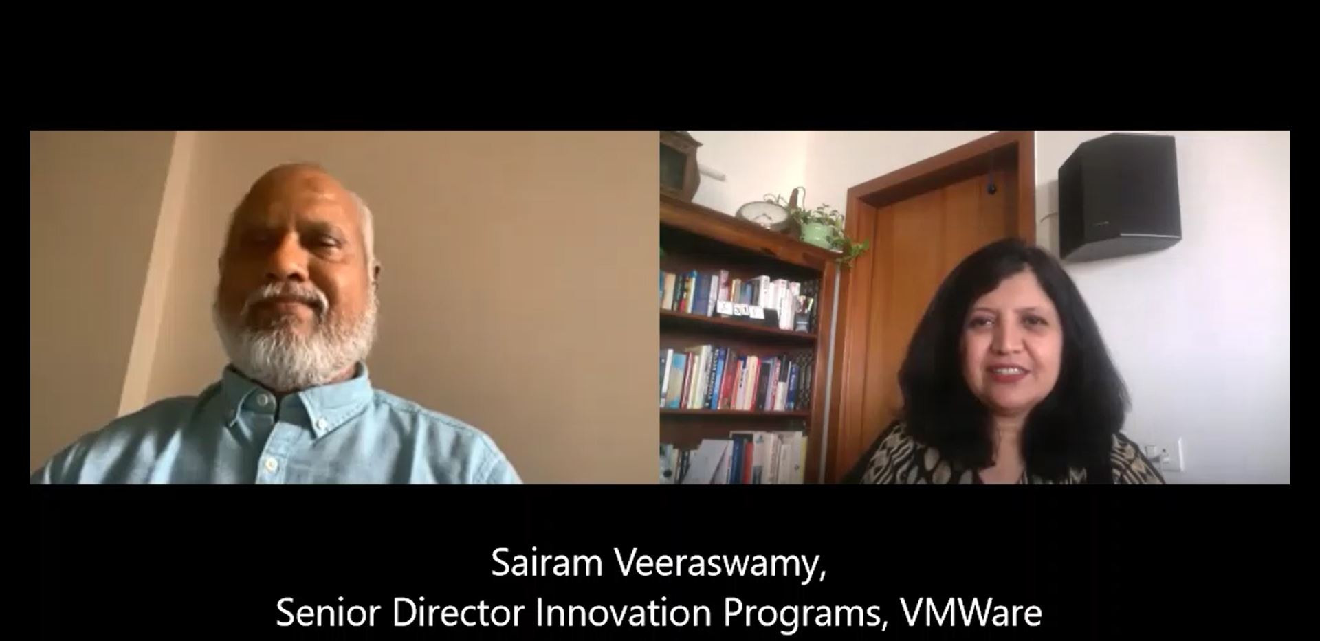 Interview with Sairam Veeraswamy