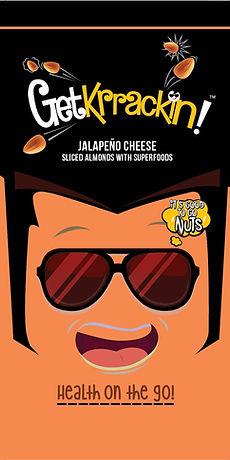 GetKrrackin! Jalapeno Cheese almonds