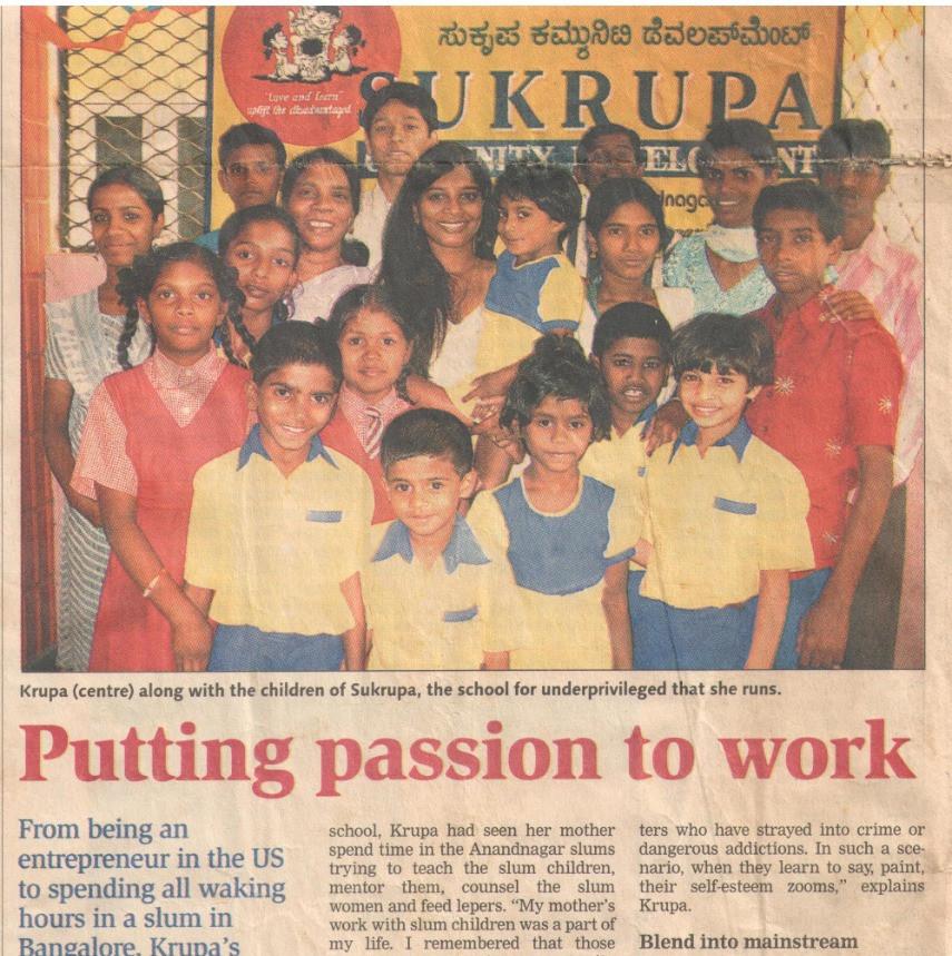 Deccan Herald, 8th March, 2008