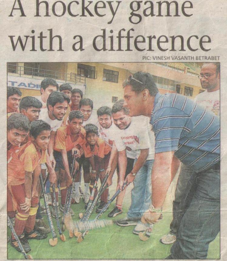 Bangalore Mirror, 25th August, 2008