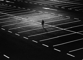 Ode to an empty mall parking lot