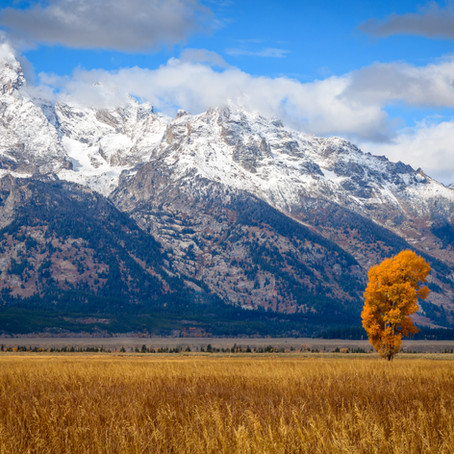 Grand Tetons in Fall - Oct 2018