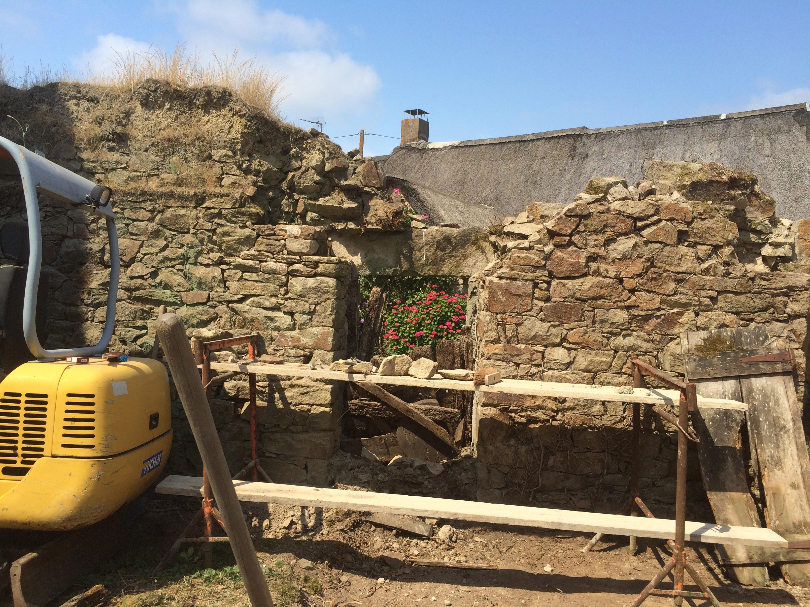 Rénovation d'une ruine Marlais 44410