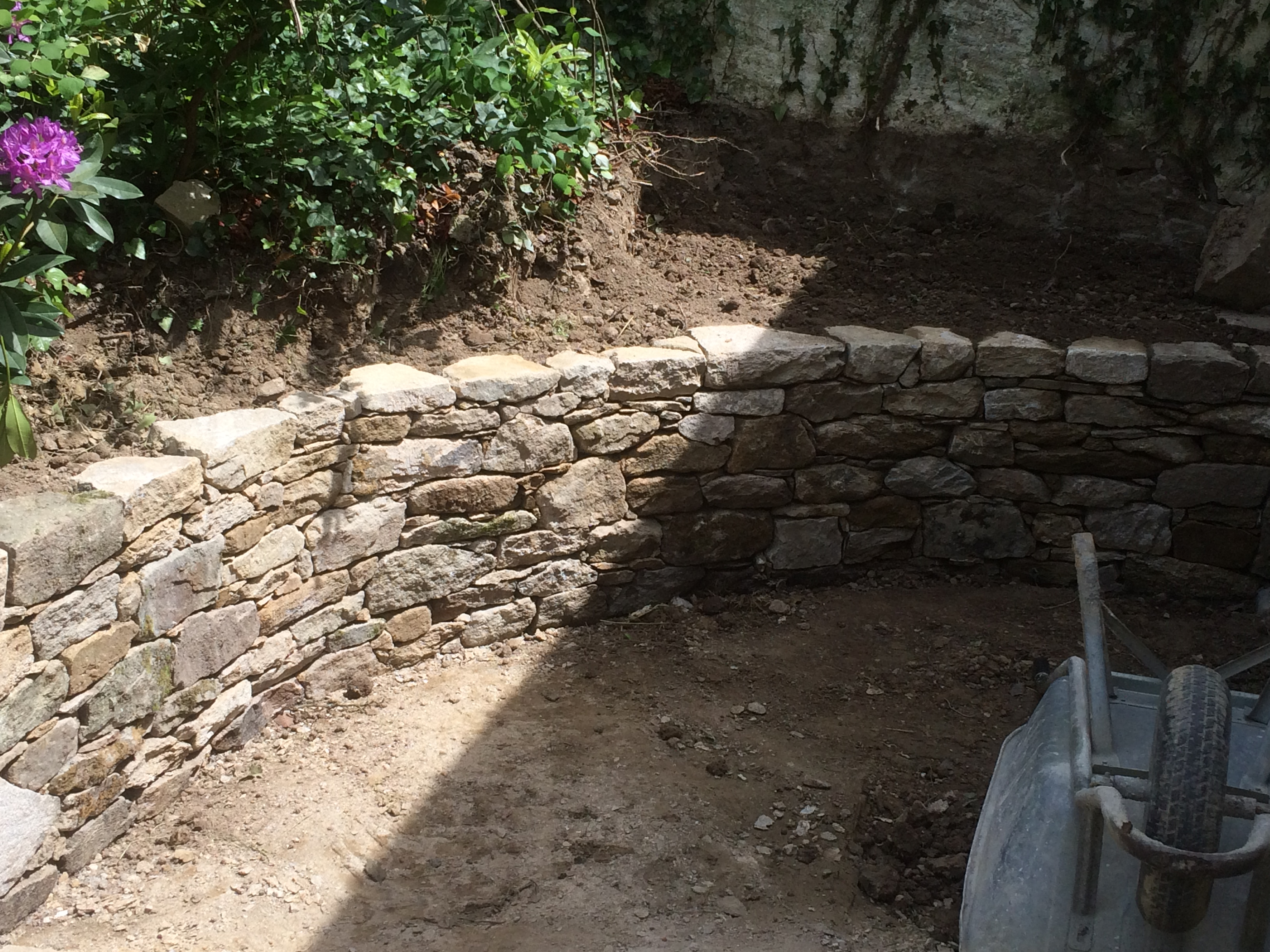 Muret pierre sèche Herbignac