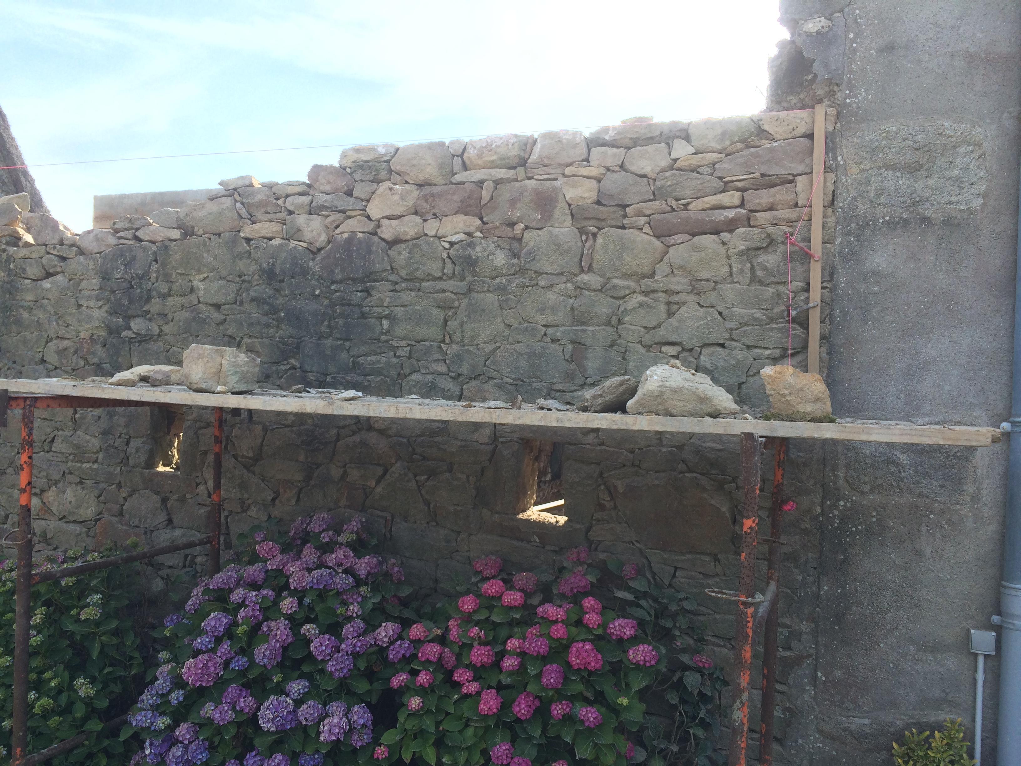 Rénovation en cours Herbignac