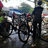 Nettoyage des vélos