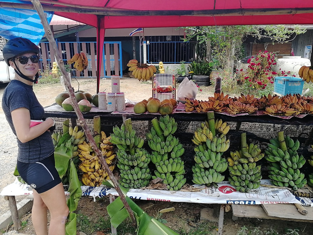 Tour du monde à vélo en famille 2018 - 2019 : fruits Thaïlande