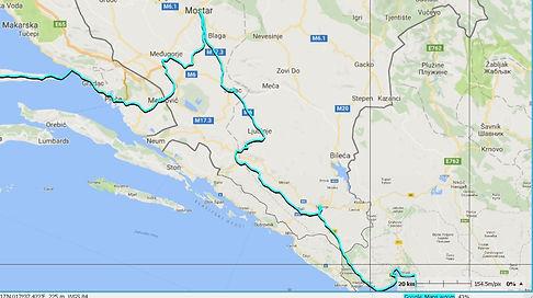 Tour du monde à vélo en famille itinéraire Bosnie