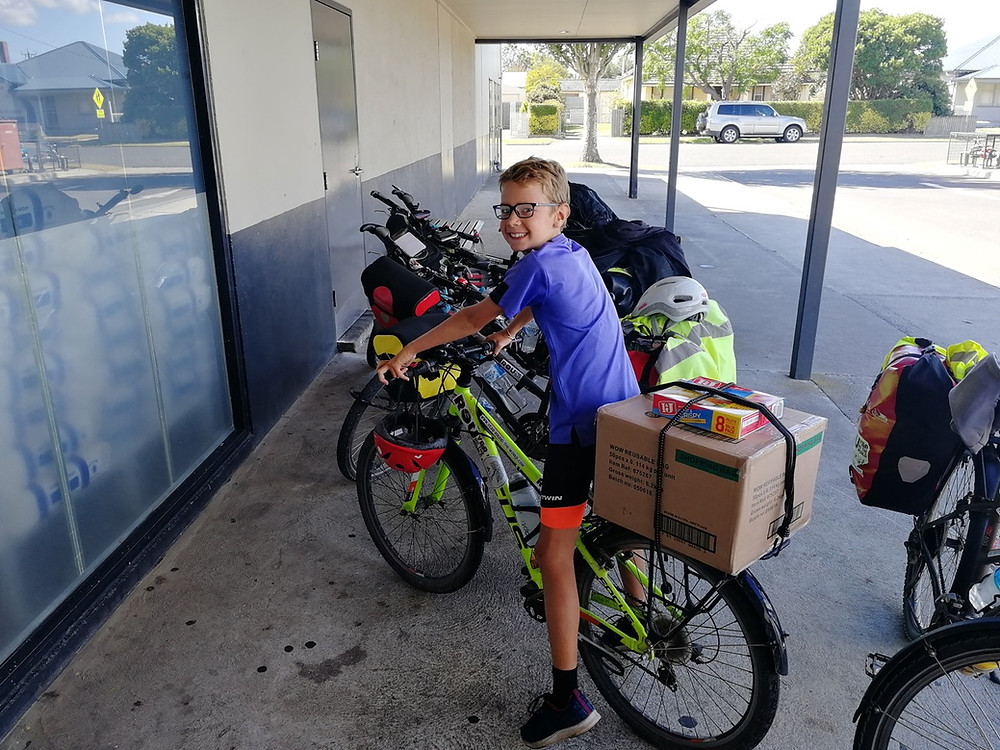 Tour du monde en famille à vélo : Australie
