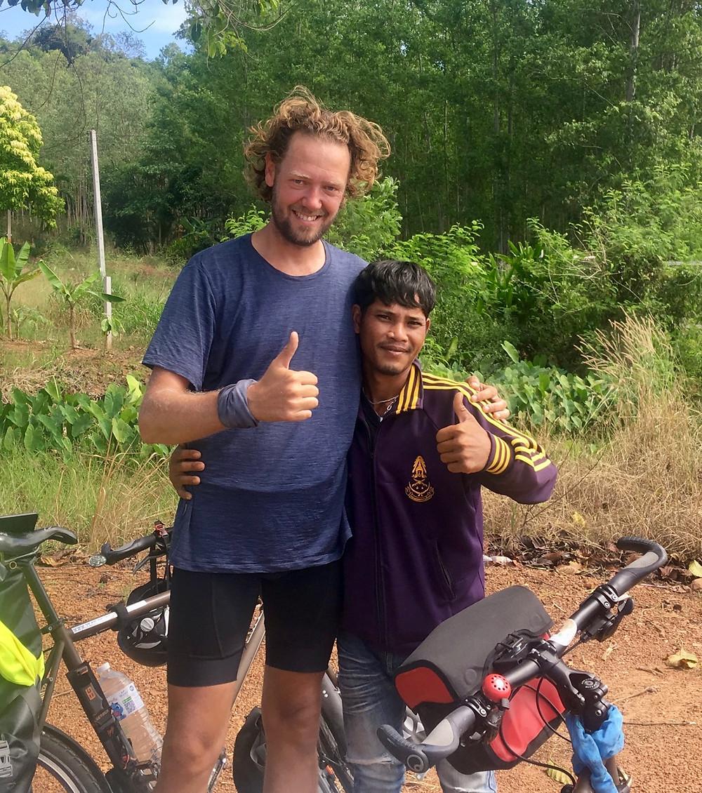 Tour du monde à vélo en famille 2018 - 2019 : mascotte Thaïlande