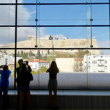 Vue du musée de l'Acropole