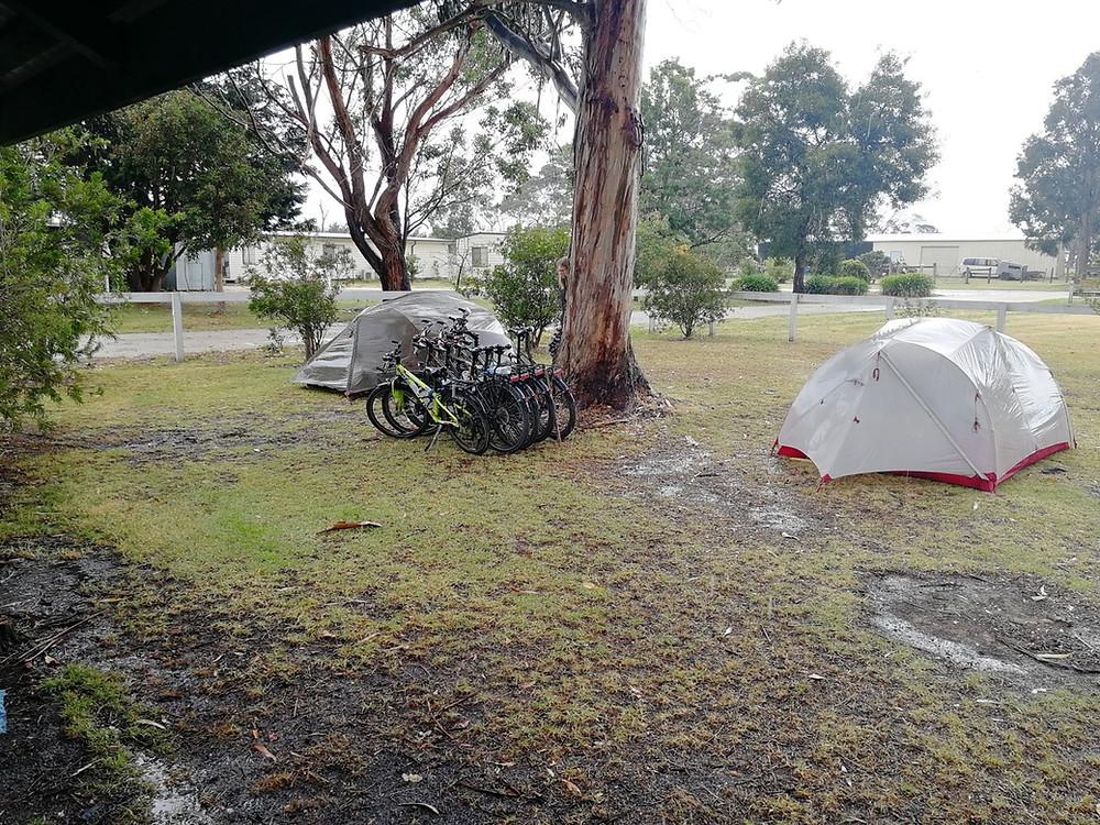 Tour du monde en famille à vélo : Port Albert