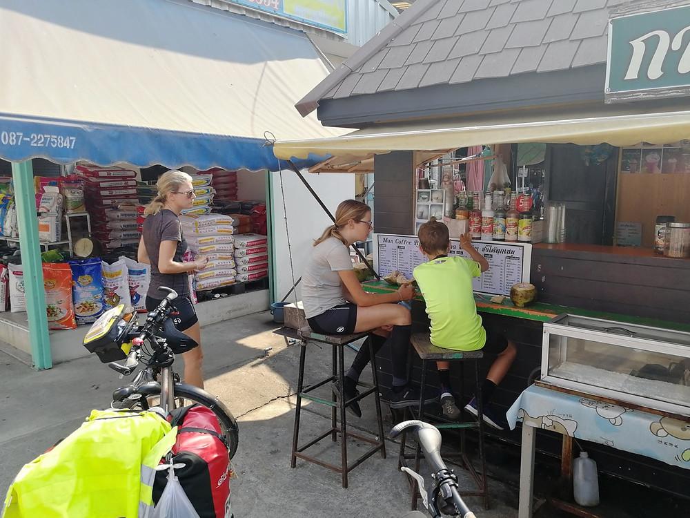 Tour du monde à vélo en famille : Asie