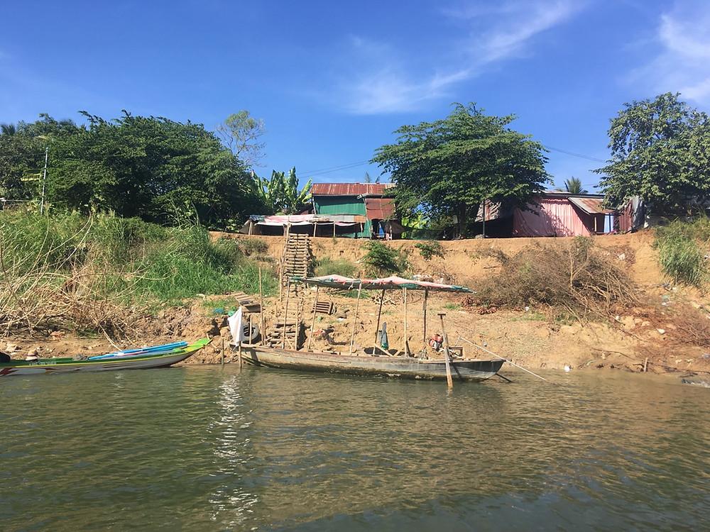 Tour du monde à vélo en famille Cambodge Siem Reap/Battambang
