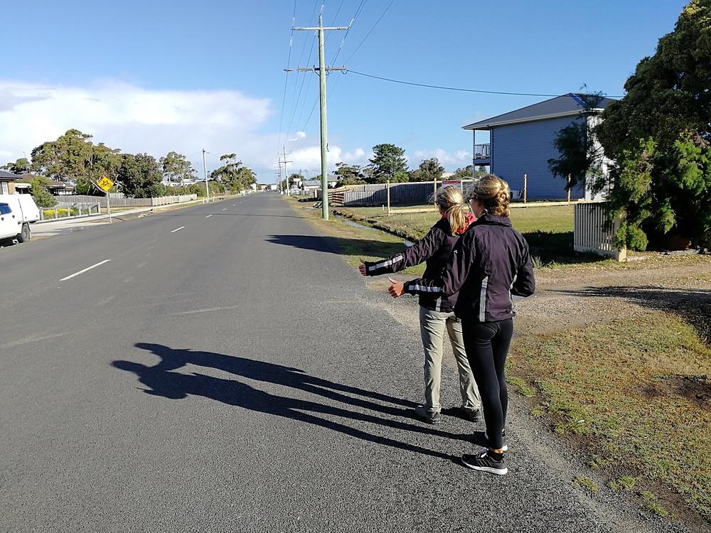 Tour du monde en famille à vélo : autostop