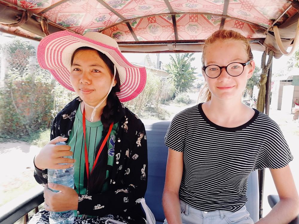 Tour du monde à vélo en famille Cambodge Siem Reap