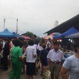 Dans les marchés