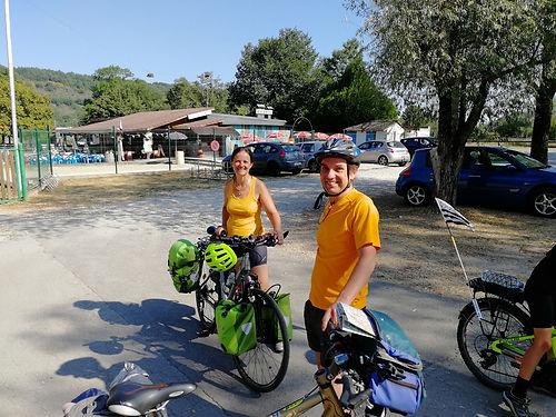 Voyageurs venus du Nord, ils ont parcouru Lille-Jerusalem à vélo en 2010! nous nous croisons à plusieurs reprises sur la route avec toujours ce même plaisir d'échanger