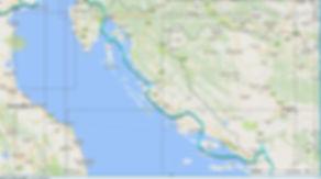 Tour du monde à vélo en famille itinéraire Croatie
