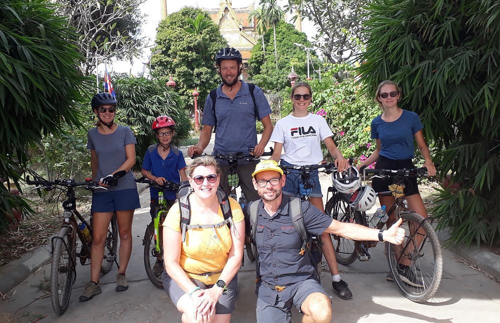 Tour du monde à vélo en famille Cambodge Battambang