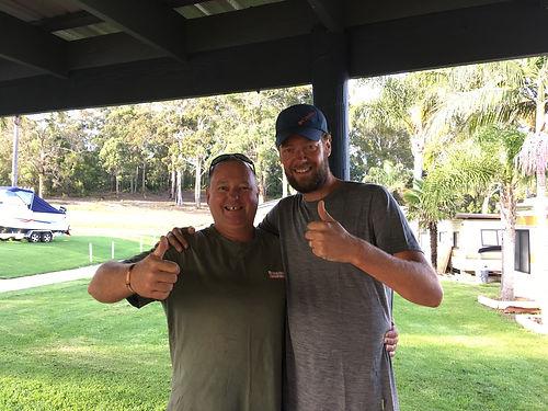 Bruce est Australien, retraité de la Navy Australienne. Il nous témoigne toute sa générosité en sponsorisant une étape de notre voyage. Un vrai grand généreux !