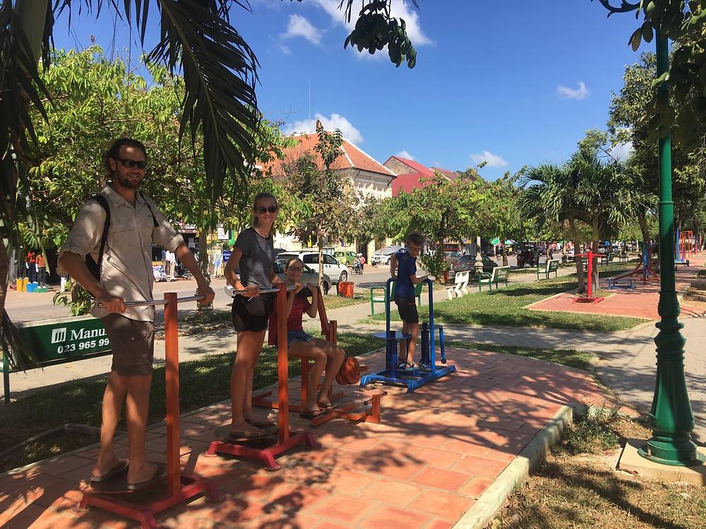 Tour du monde à vélo en famille Battambang