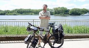 Gilles Rouyer et son Vélo