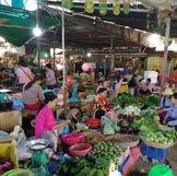 Le marché de Siem Reap