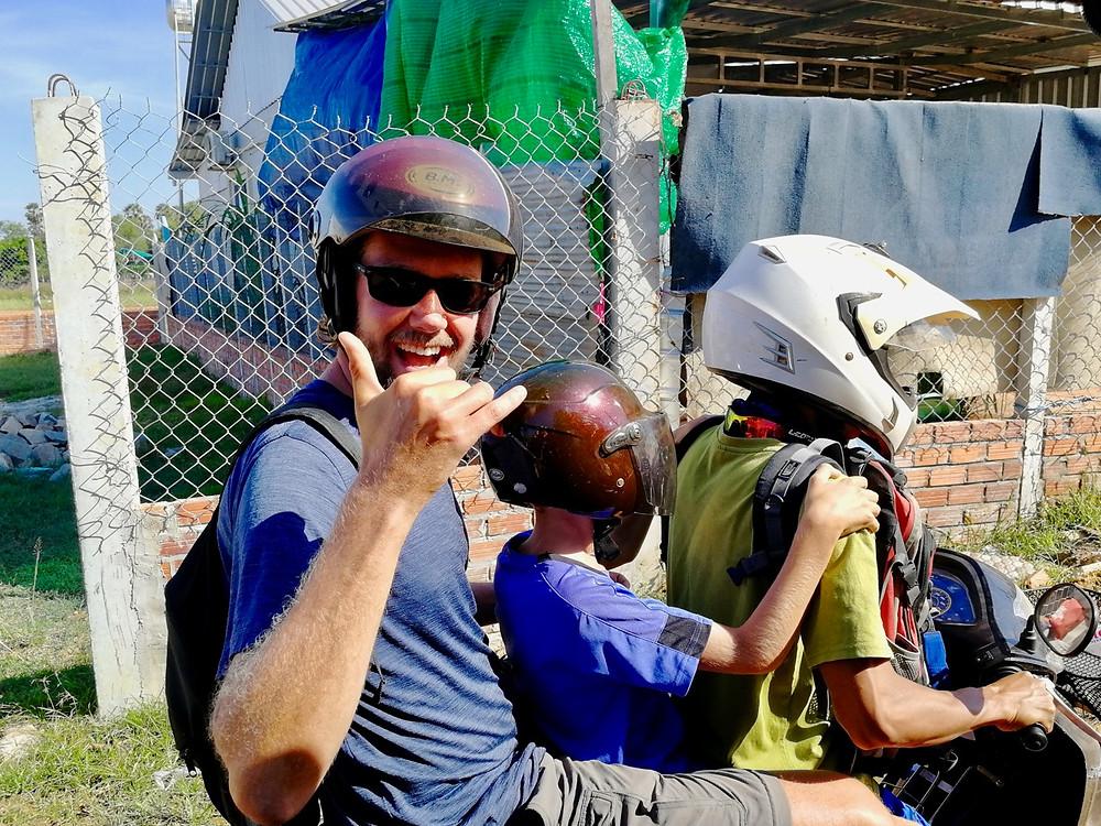 Tour du monde à vélo en famille Siem Reap Cambodge