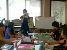 ちびっ子アロマ教室