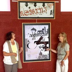 Exposition de calligraphie à Souché