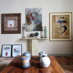 Chantal Fraigneau à la galerie Rousseau