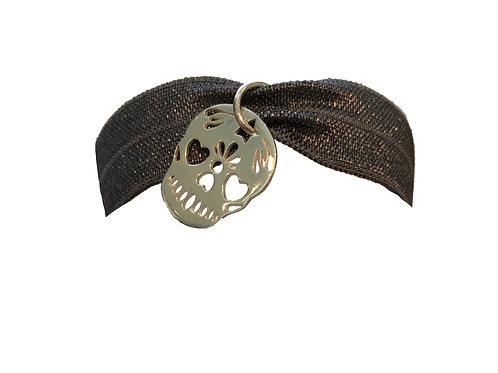 Beautiful unique elasticated ribbon bracelet
