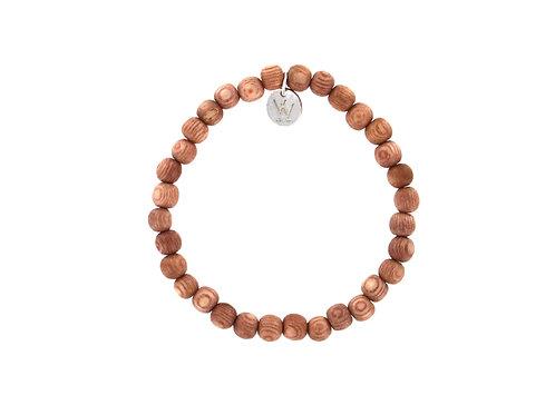 Rosewood elasticised bracelet