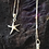 Thumbnail: Sterling silver star fish pendant