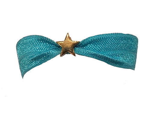 Festival wristband with 10mm gold vermeil star bead