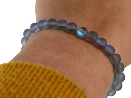 Grey Australian frosted crystal bracelet