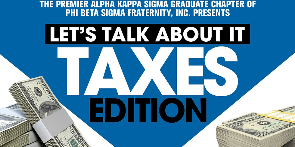 Let's Talk About It: Taxes Edition