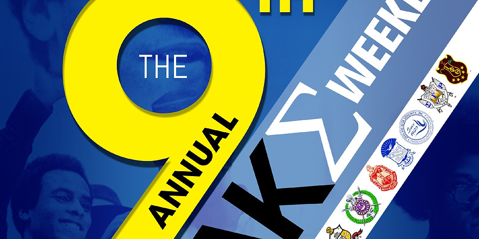 9th Annual AKΣ Weekend: Dr. Huey P. Newton Step and Stroll Competition for Change