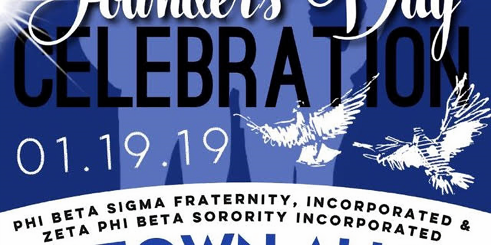 804 Blue & White Founders Day Celebration