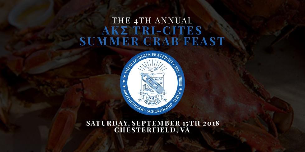 4th Annual AKΣ Tri-Cities Summer Crab Feast - General Admission