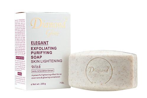 Diamond Glow Elegant Exfoliating Purifying Soap