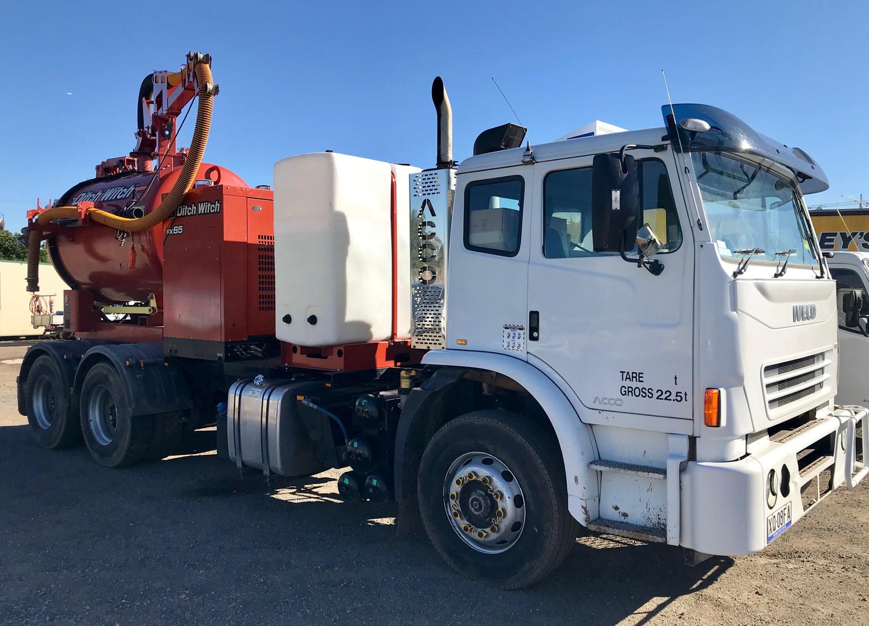 Iveco 5,000L Vacuum Excavation Truck