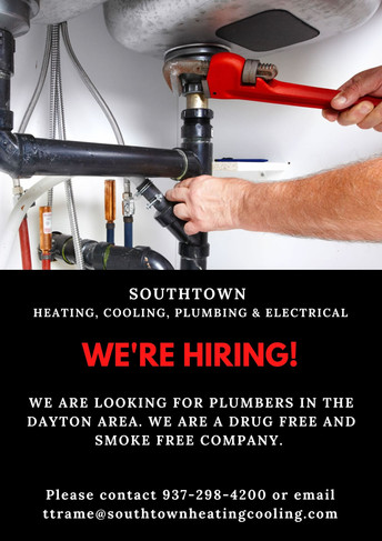 Looking for HVAC Techs and Plumbers!