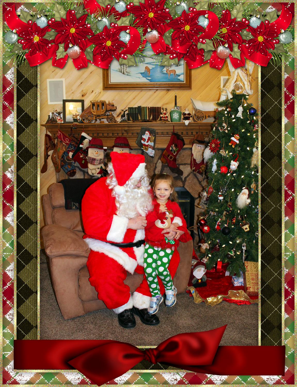 Santa & The Burke Family pt 2