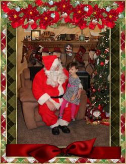 Santa & The Bryant Family